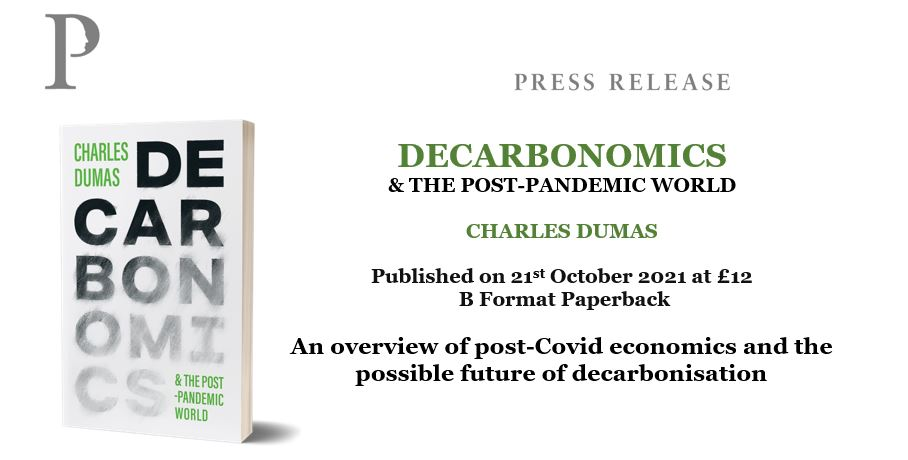 Decarbonomics book by Charles Dumas Chief Economist at TS Lombard